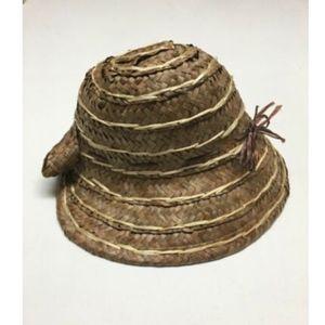 Vintage Straw Hat Bonnet Sun Hat Womens